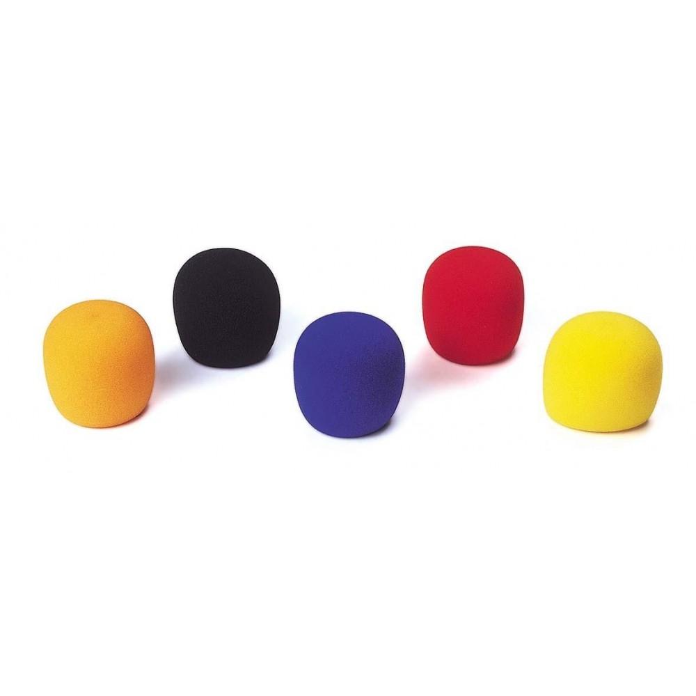JB Systems Windscreen micro - Windkappen Set 5x voor microfoon in zwart of kleur