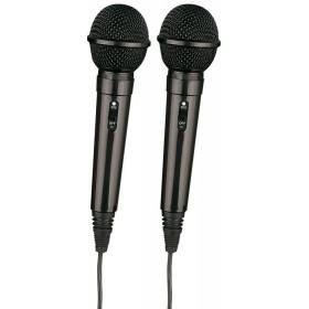 Fenton Karaoke microfoon mixer + 2 microfoons - microfoons