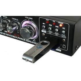 Skytronic AV-360 - FM radio en USB / SD speler