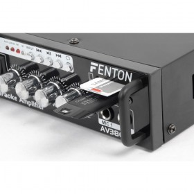 Fenton AV380BT Amplifier kit with speakers USB/SD/BT aansluitingen, usb, sd en 2 microfoons