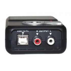 Ibiza Sound AD-TRANSFER - USB Audio Converter (analoog naar digitaal) usb en line uitgang