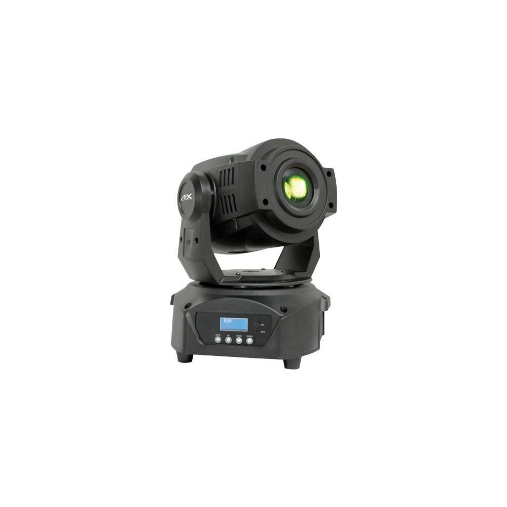 schuin voorzijde - AFX Light SPOT60LED - 60W Led Spot Moving Head (Actie)