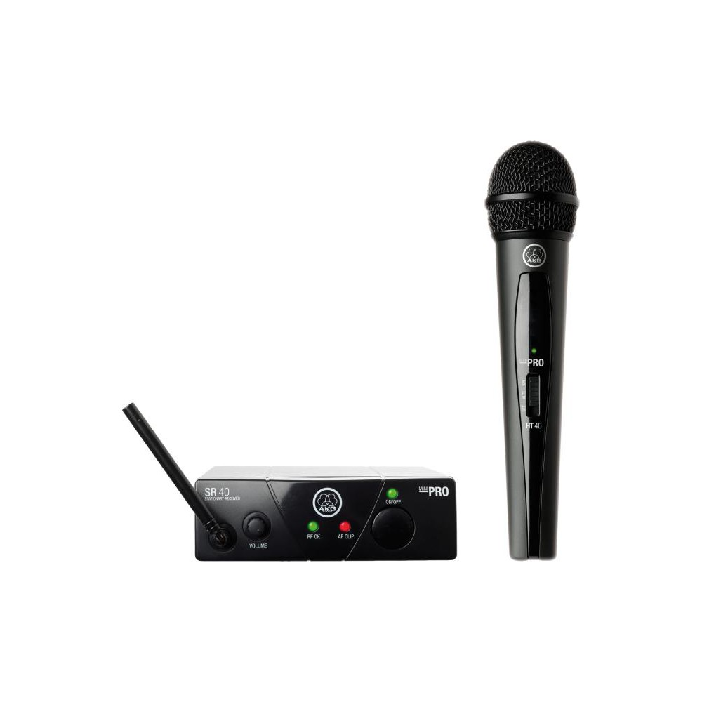AKG WMS40 Mini Vocal - Draadloze Hand microfoon
