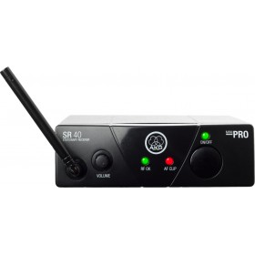 AKG WMS40 Mini Vocal - Draadloze Hand microfoon ontvanger