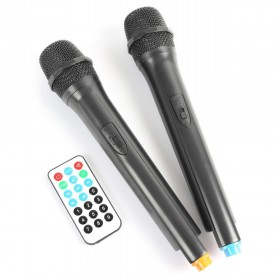 "Vonyx AP1500PA - Mobiele Geluidsinstallatie 15"" 2 UHF MP3 BT - DJ-Verkoop.nl"