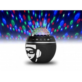 lichteffect iDance BB10-Black - Audio Speakers met disco lamp en Bluetooth