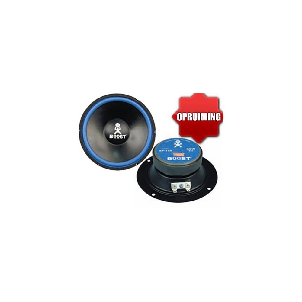 BP-135 - 13cm Speaker 60W Max (OP  is  OP) voorbeeld van de voor en achterkant