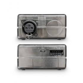 voor en achterkant Cameo DVC 4 - Dmx Interface en Software pakket