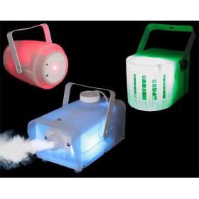 IBIZA Light CLEAR-PACK set van 3 doorschijnende licht effecten