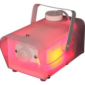 IBIZA Light CLEAR-PACK rookmachine met rgb leds in behuizing