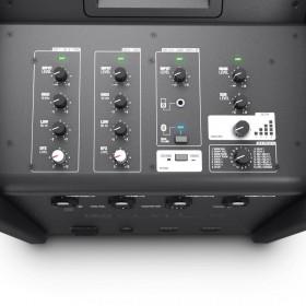 LD Systems CURV 500 ES stereo set + transport tassen mixer