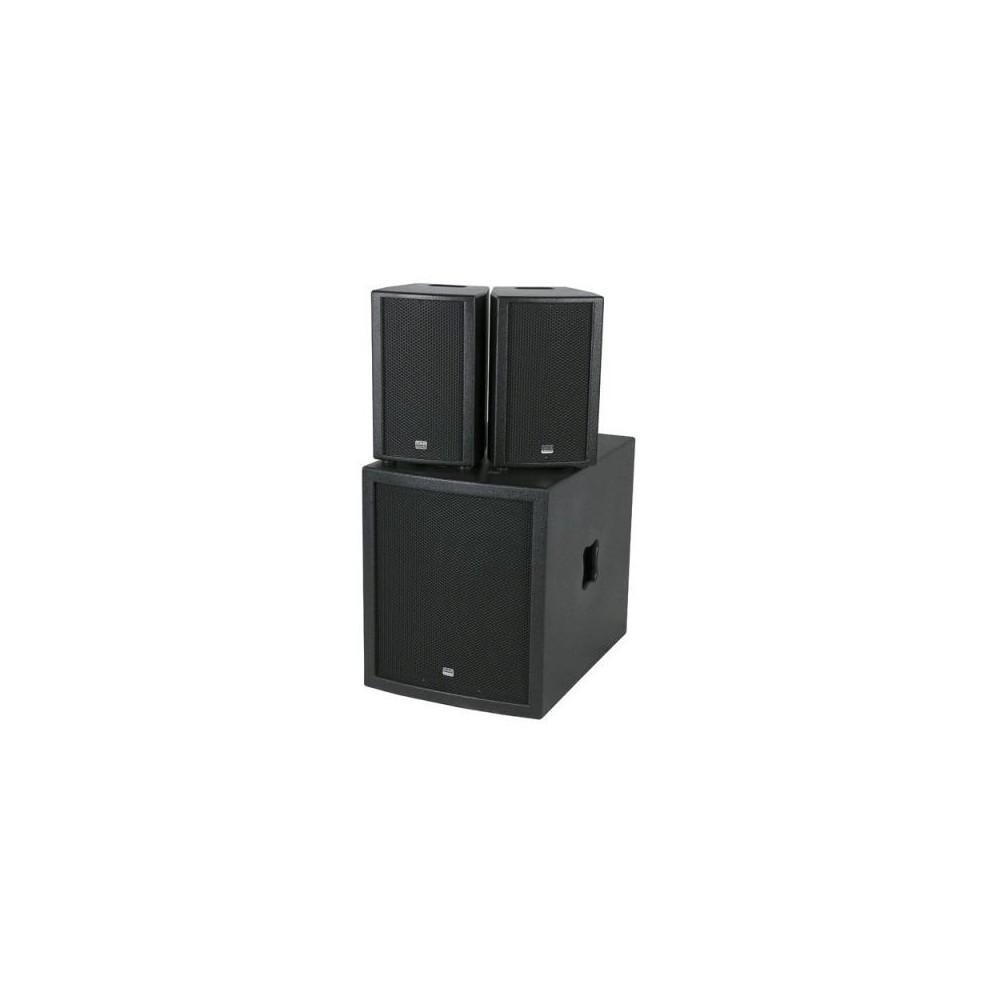 Dap-Audio Club Mate II - compacte actieve speakerset