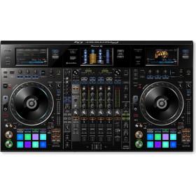 bovenkant Pioneer DDJ-RZX - Professionele 4-kanaals DJ controller