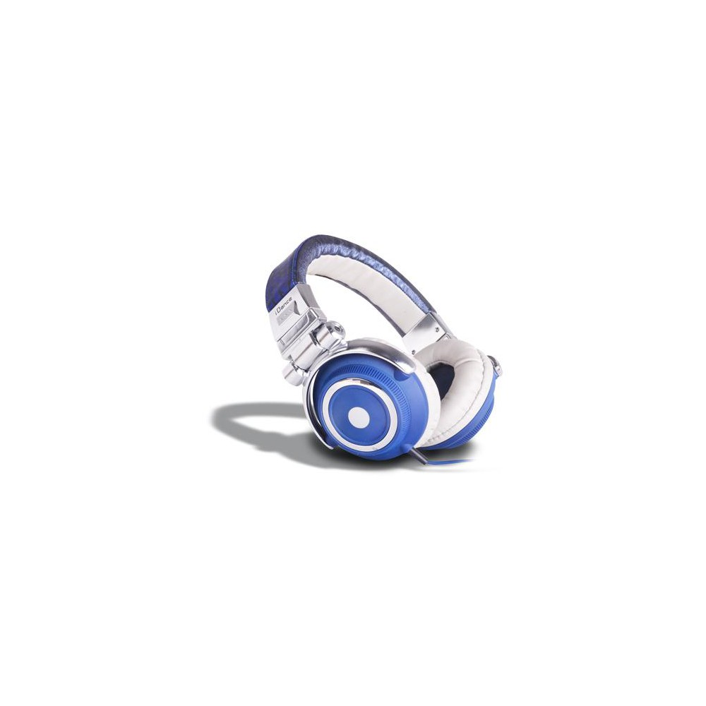 iDance DISCO Fashion (DJ) Hoofdtelefoon - blauw wit