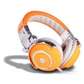 iDance DISCO Fashion (DJ) Hoofdtelefoon - oranje wit