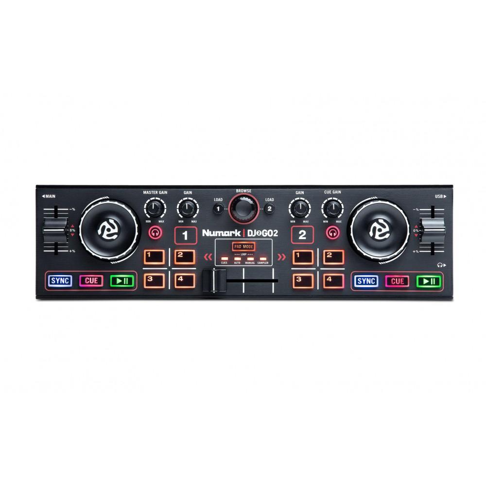 Numark Dj2Go2 Compacte DJ Controller met Serato DJ - voorkant