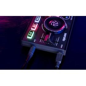 Numark Dj2Go2 Compacte DJ Controller met Serato DJ - zijkant aansluitingen