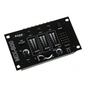 mixer IBIZA Sound DJ-300MKII Disco Kit Complete Disco Set