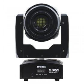 Licht uit Equinox Fusion 100 spot MKII - Compacte 80 Watt Movinghead met Gobo's en Prisma
