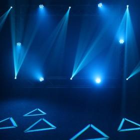 Lichteffect 4 Equinox Fusion 100 spot MKII - Compacte 80 Watt Movinghead met Gobo's en Prisma
