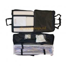 EQUINOX EQLED124 - 2x 1,5m DJ Totem Kit - Tassen met inhoud overzicht