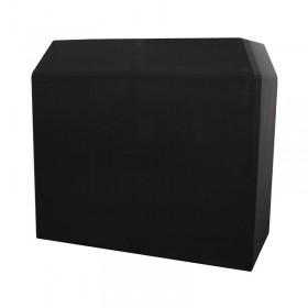 Equinox EQLED12P Aluminium lichtgewicht DJ Booth Systeem MKII incl. wit en zwart doek en tassen - zwart