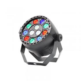 Equinox Micropar - 12x1 watt RGBW Par met DMX