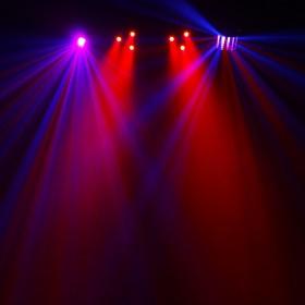 Equinox Microbar Multi Systeem Licht bar met verschillende effecten - aan 1