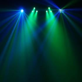 Equinox Microbar Multi Systeem Licht bar met verschillende effecten - aan 2