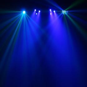 Equinox Microbar Multi Systeem Licht bar met verschillende effecten - aan 3