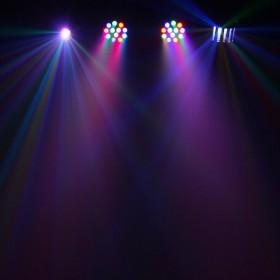 Equinox Microbar Multi Systeem Licht bar met verschillende effecten - aan 4