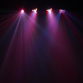 Equinox Microbar Multi Systeem Licht bar met verschillende effecten - aan 5