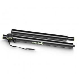Gravity SP 3332 TPB tweedelige Verstelbare speaker Pole 35 mm tot 35 mm