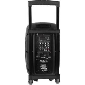 "Achterkant Ibiza Sound HYBRID10VHF-BT - Stand-alone speaker 10"""
