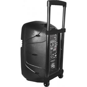 """Achter zijkant Ibiza Sound HYBRID10VHF-BT - Stand-alone speaker 10"""""""