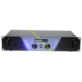 IBIZA Sound AMP300 - Semi-pro versterker 2x240W Max. op 4 ohm Voorkant