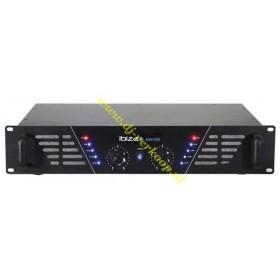 IBIZA Sound - AMP600 versterker van 2x480W max. (Actie) voorkant zwart