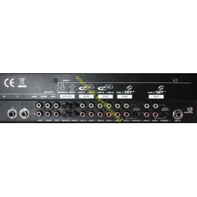 IBIZA Sound - DJM102 6-kanaals Mixer met EQ. en Effecten aansluitingen