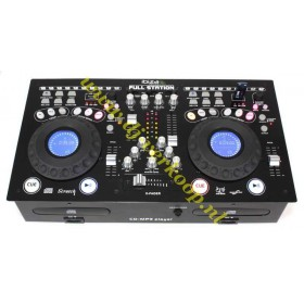 IBIZA Sound FULL-STATION cd/usb/mp3 speler/mixer combinatie (actie)