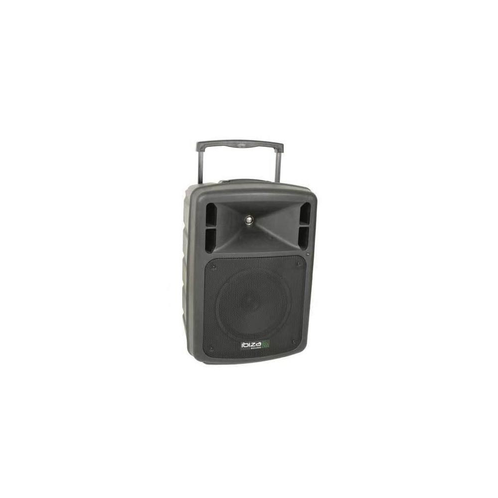 Ibiza Sound PORT10CD-VHF-BT - Mobiel Pa systeem met CD Speler en Bluetooth