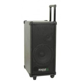 Ibiza Sound Port8Mini - Mobiele PA met cd/usb/mp3 speler (Actie)