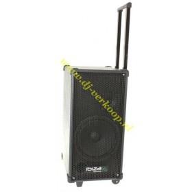 Ibiza Sound Port8Mini - Mobiele PA met cd/usb/mp3 speler met trolley