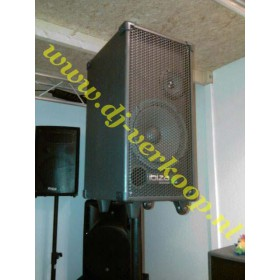 Ibiza Sound Port8Mini - Mobiele PA met cd/usb/mp3 speler op statief
