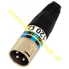 IBIZA Sound XLR-EOL - 120ohm XLR DMX terminator plug (per stuk)
