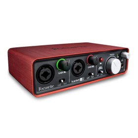 Focusrite Scarlett 2i2 - 2-in/2-uit USB 2.0 Audio Interface