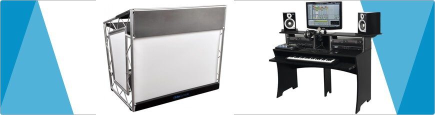 DJ Booth of Studio meubel/Tafel nodig? DJ-VERKOOP voor de juiste gear