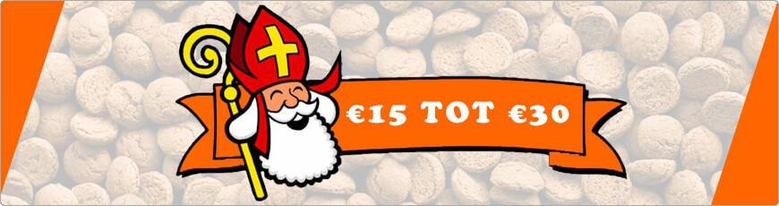 Ben je opzoek naar een super leuk sinterklaas cadeautje? € 15 tot € 30