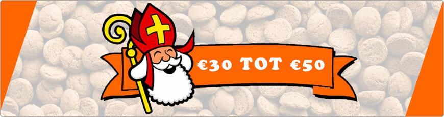 Ben je opzoek naar een super leuk sinterklaas cadeautje? € 30 tot € 50