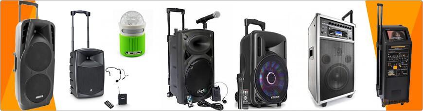 Speaker op Accu/batterijen nodig? Hier vind he ze van klein tot groot!