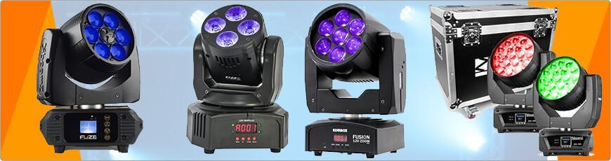 Wash Movinghead? met bijvoorbeeld DMX, LED, Zoom of iets anders? die koop je bij DJ-Verkoop!